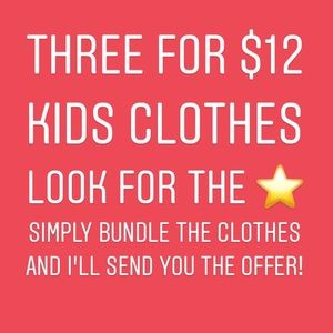 Other - Bundle of three kids clothes
